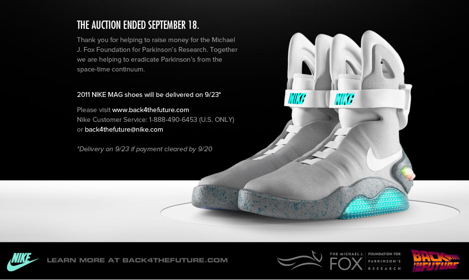 05bf574addc Nike Air Mag a.k.a Marty Mcfly s. Yup